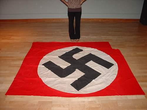 Very large NSDAP flag