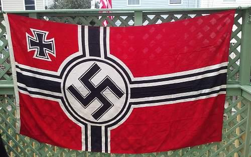 Kriegs flag real?