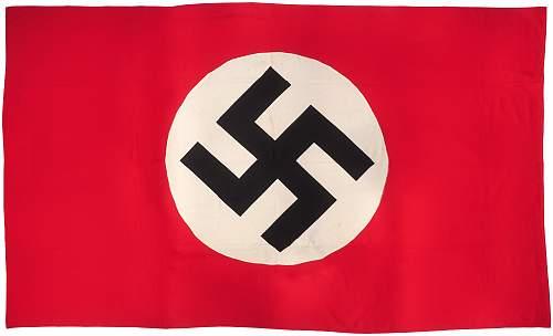 NDSAP Flag 320cm x 280cm.