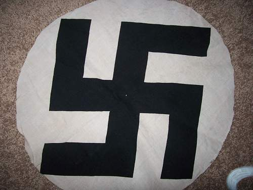 NSDAP Flag centre