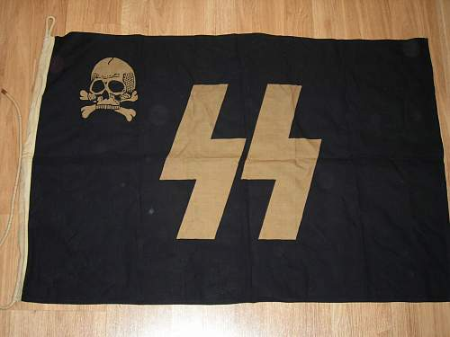 Flags - SS and Swastika