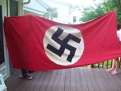 10'x4' Nazi Building Flag ww2 Berlin