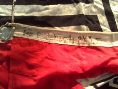Kriegsmarine Flagge, Good or no?