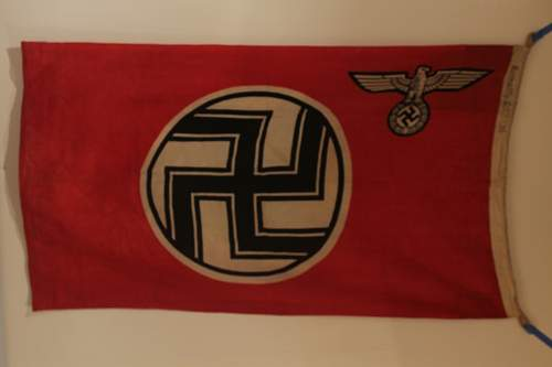 Need opinions on a State Service Flag 80X135 Cm Size