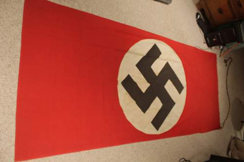 Large NSDAP Banner .... with a little extra