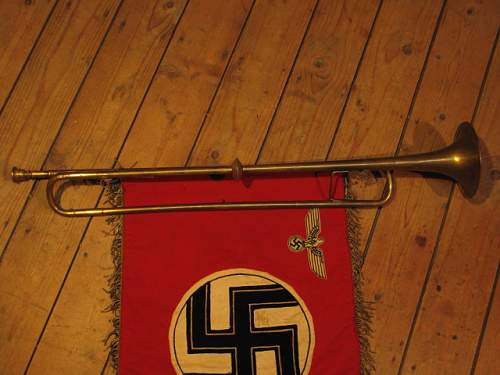 nsdap hilfpolizei brandenburg fahne