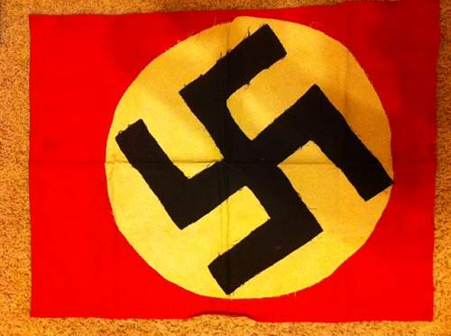 NSDAP flag for opinions please