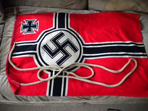 Is this an original Reichskreigsflag?  HELP!