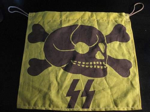 Nazi Mine Flag? Danger Flag?