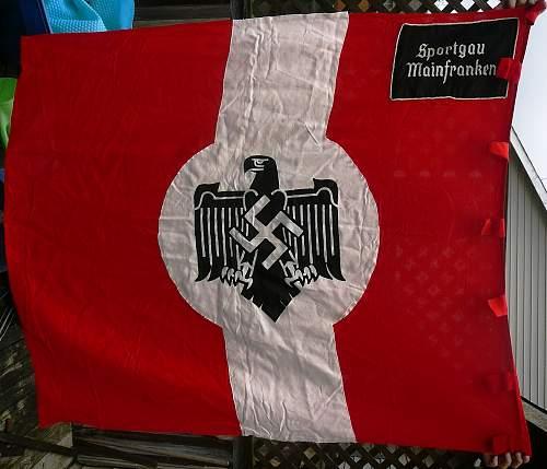 Sportgau Mainfranken Unit flag