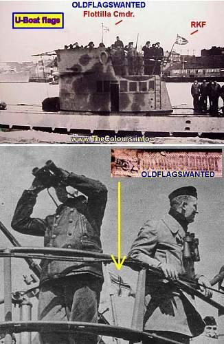Kriegsmarine Flotillenstander
