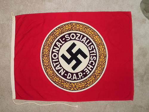 """Authentic """"Old Guard"""" flag??"""