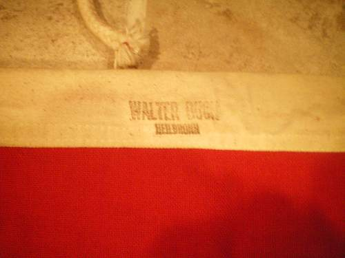 NSDAP Alten Garde printed banner 60x90