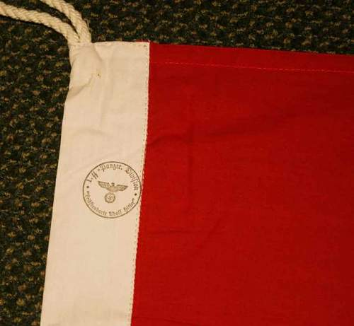 SS marked flag: repro or genuine please help