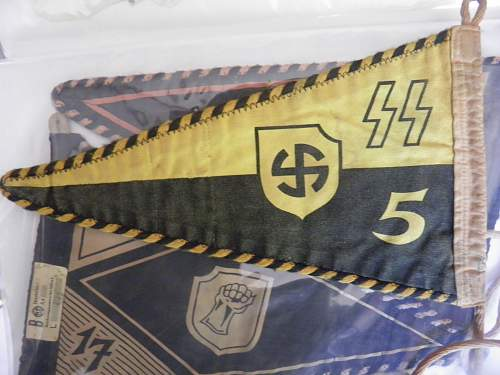 SS Pennants from the Berghof