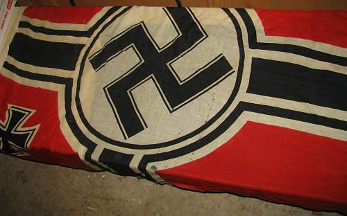 Is this a real Reichskriegs Flag?