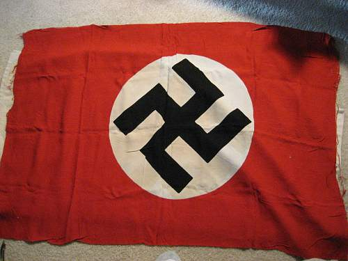 Need help! Can anyone tell if this flag is original?