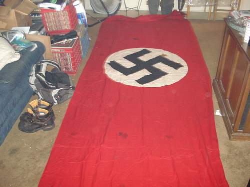 Old Banner Found In Old Trunk