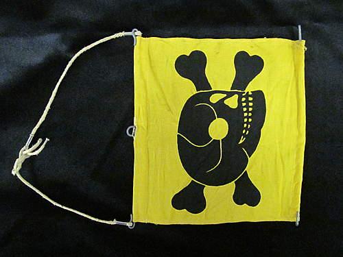 Skull and Crossbone Flag Identification Needed