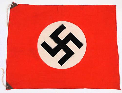 Japanese made Nazi flag ?
