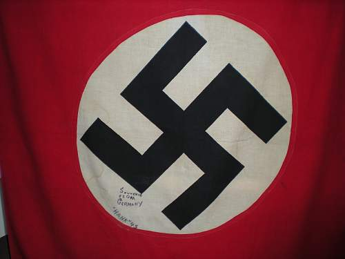 German flag vet bringback from Italy