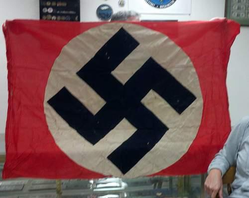 Unknown swastika flag