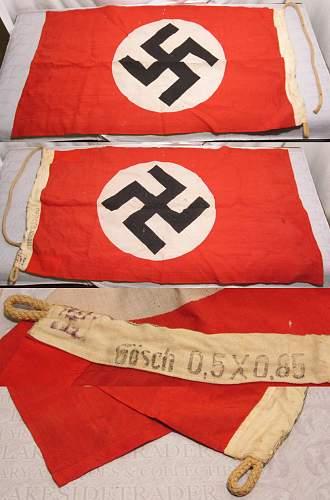 authenticity-nsdap flag, pin,armband