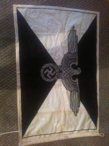 Picked up some flags today: SS Command flag