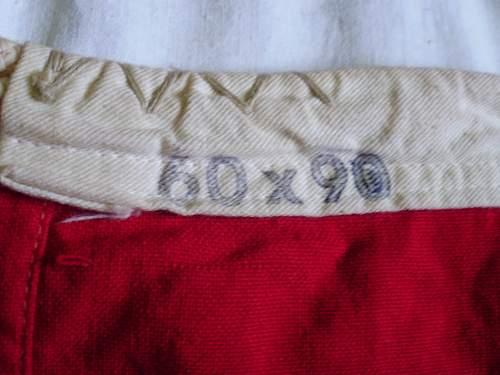 Another Reichskriegsflag: strange marking ?