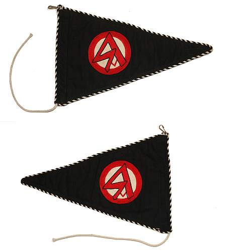 Opinions on flags and pennants