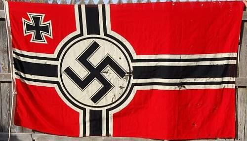 Kriegs Flag 150 x 250 authentic?