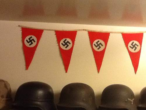 My new pennant for opinions.