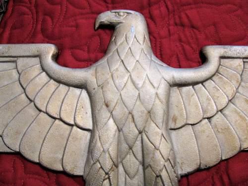 Railroad Boxcar eagle