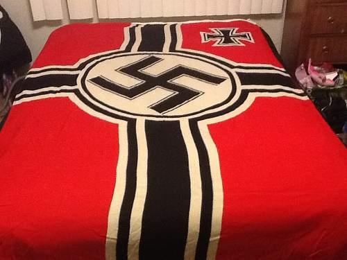 KM Flag HUGE, 150x250..good?