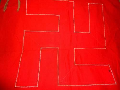 Original swastika flag?