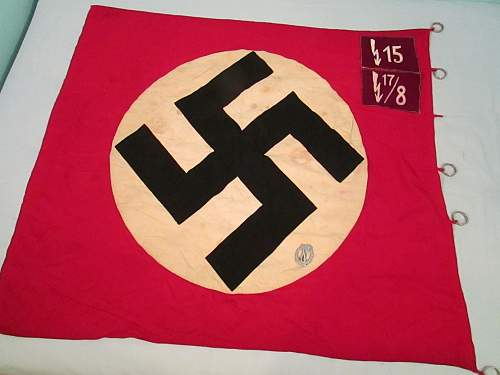 WWII German Unit Flag (opinions please)