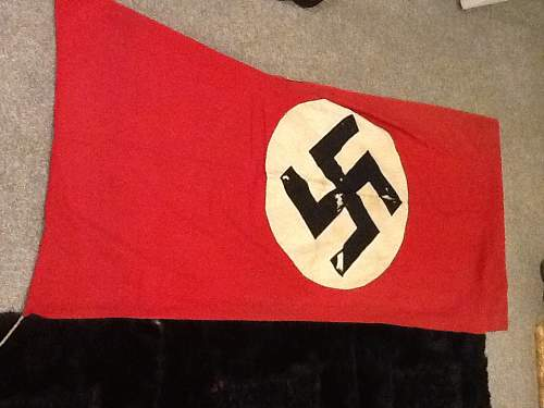 My first flag!!!