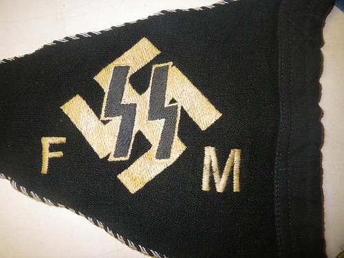 SS F/M supporters pennant