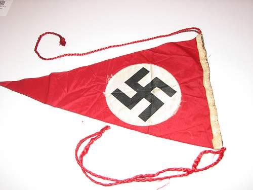 Nazi Pennant