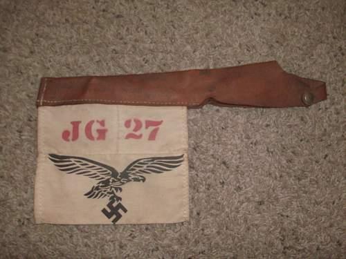 JG 27 pennant?