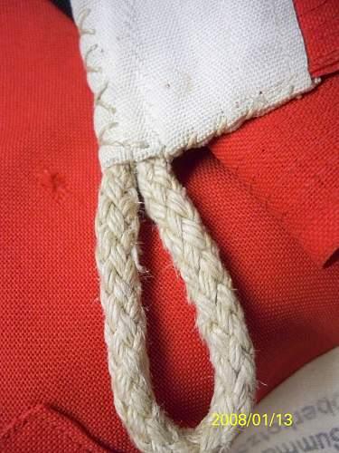 kriegsflagge stitching