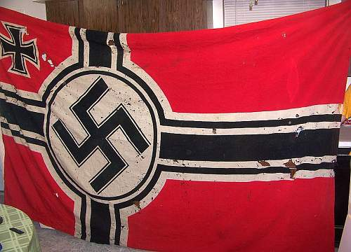 Picked Up My First Kriegsmarine Flag (200 x 335), Extra Salty!