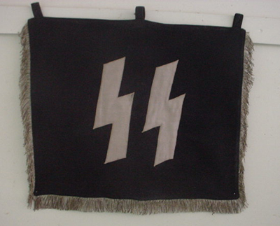 SS WWII Bugle & Banner