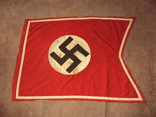 Ww2 german swallow tail flag banner ??