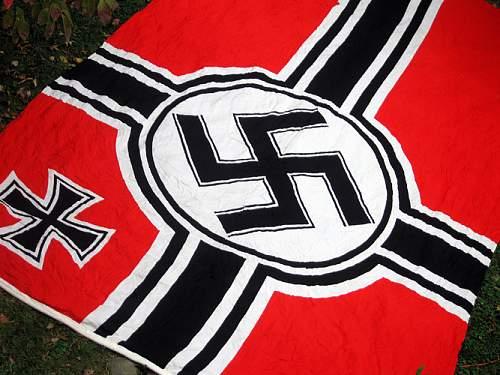Super-large kr'flagge/fahne