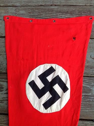 Nazi Banner. . . . Vet bringback