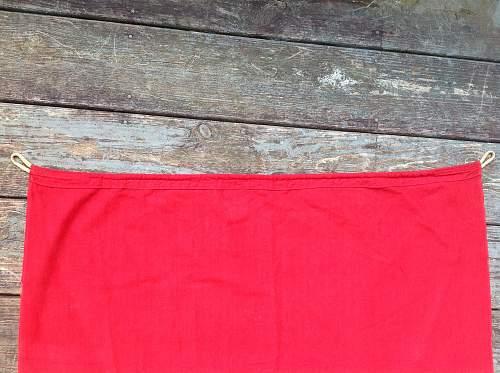 Nazi Banner. . . . War Souvenir