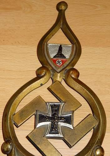 Reichskriegerbund pole top