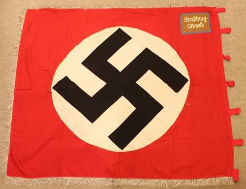 """Strassburg Ostwald"" Flag."