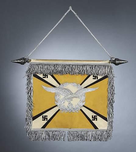 Luftwaffe Schellenbaume Flagge 'Uetersen'